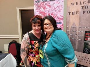 Having a complete Fangirl Moment meeting Jay Crownover